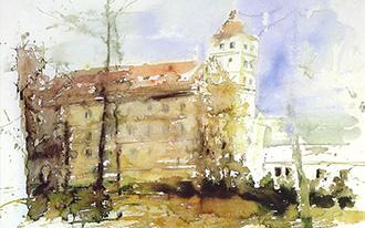 Aquarellmalerei Sommerakademie Borgholzhausen